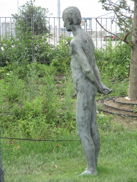Escultura en los jardines de pereda santander cantabria - Esculturas para jardines ...
