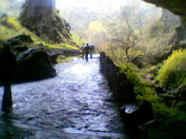 salida de la cueva de Valporquero del Torio, VALPORQUERO DE RUEDA