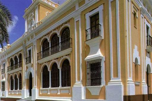 Ayuntamiento desde calle amargura rociana del condado - Fotos antiguas de rociana del condado ...
