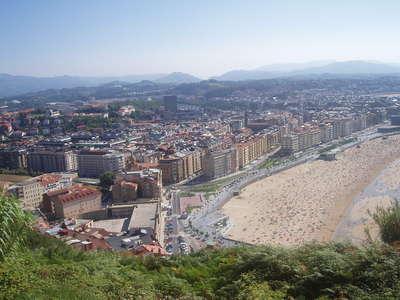 Vistas a la playa de la zurriola san sebastian donostia - El tiempo para manana en san sebastian guipuzcoa ...