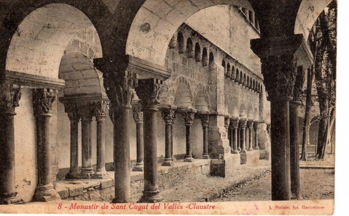 Monasterio claustro sant cugat del valles - Temperatura actual en sant cugat del valles ...