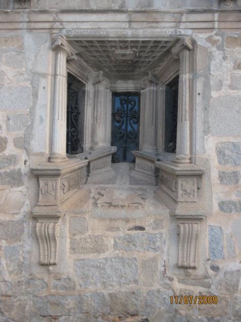 ventana de la catedral, HINOJOSA DEL DUQUE